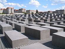 Holocaust-Mahnmal Berlin - Bild: wikipedia