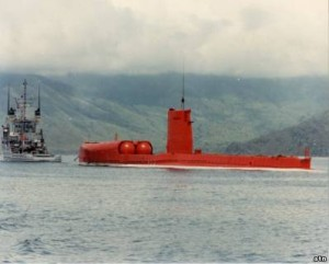 red submarine